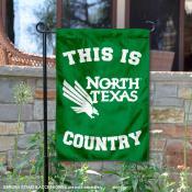 University of North Texas Country Garden Flag