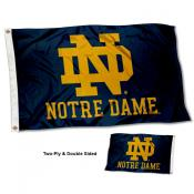 University of Notre Dame Double Sided Nylon Flag