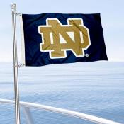 University of Notre Dame Golf Cart Flag
