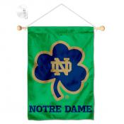 University of Notre Dame Shamrock Window and Wall Banner
