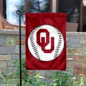 University of Oklahoma Baseball Garden Flag