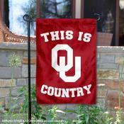 University of Oklahoma Country Garden Flag
