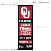 University of Oklahoma Decor and Banner