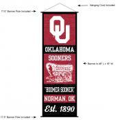 University of Oklahoma Decor and Banner