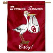 University of Oklahoma New Baby Flag