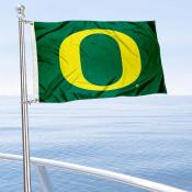 University of Oregon Boat and Mini Flag