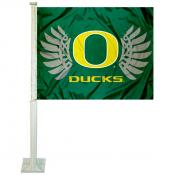 University of Oregon Car Window Flag