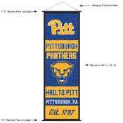 University of Pittsburgh Decor and Banner