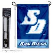 University of San Diego Garden Flag and Stand