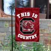 University of South Carolina Country Garden Flag