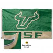 University of South Florida Nylon Embroidered Flag