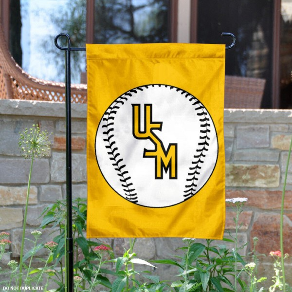 University of Southern Miss Baseball Garden Flag is 13x18 inches in size, is made of 2-layer polyester, screen printed University of Southern Miss Baseball athletic logos and lettering. Available with Express Shipping, Our University of Southern Miss Baseball Garden Flag is officially licensed and approved by University of Southern Miss Baseball and the NCAA.