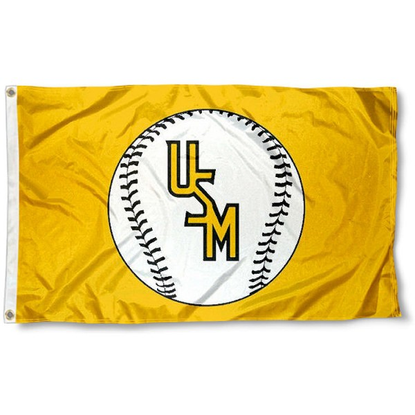 University of Southern Mississippi Baseball Flag measures 3'x5', is made of 100% poly, has quadruple stitched sewing, two metal grommets, and has double sided Team University logos. Our University of Southern Mississippi Baseball Flag is officially licensed by the selected university and the NCAA.