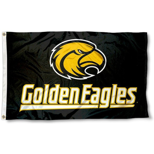 University of Southern Mississippi Flag measures 3'x5', is made of 100% poly, has quadruple stitched sewing, two metal grommets, and has double sided Southern Miss logos. Our University of Southern Mississippi Flag is officially licensed by Southern Miss and the NCAA.