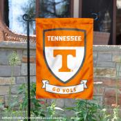 University of Tennessee Go Vols Shield Garden Flag