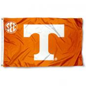 University of Tennessee SEC Logo Flag