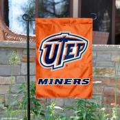 University of Texas El Paso Garden Flag