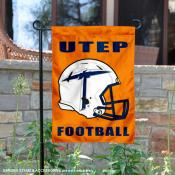 University of Texas El Paso Helmet Yard Flag