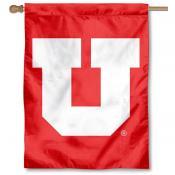 University of Utah Big U House Flag