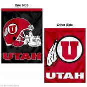 University of Utah Helmet House Flag
