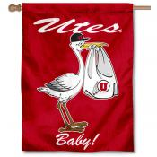 University of Utah New Baby Flag