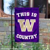 University of Washington Country Garden Flag
