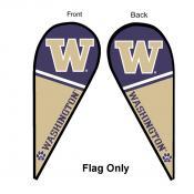 University of Washington Feather Flag