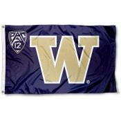 University of Washington Pac 12 Flag
