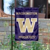 University of Washington Purple Garden Flag