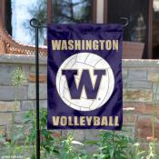 University of Washington Volleyball Yard Flag