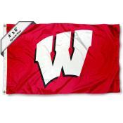University of Wisconsin 4x6 Flag