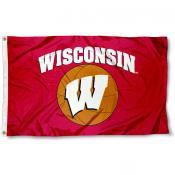 University of Wisconsin Basketball Flag