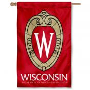 University of Wisconsin Crest Logo House Banner