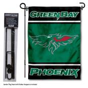 University of Wisconsin-Green Bay Garden Flag and Stand