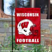 University of Wisconsin Helmet Yard Flag