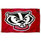 University of Wisconsin Mascot Flag