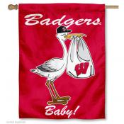 University of Wisconsin New Baby Flag