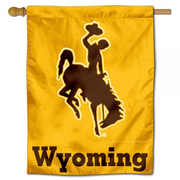 University of Wyoming Cowboys House Flag