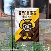 University of Wyoming Tokyo Dachi Mascot Yard Flag