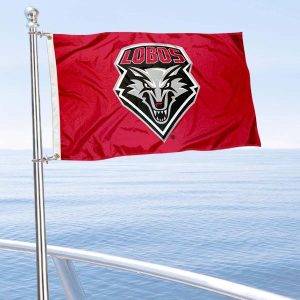UNM Lobos Golf Cart Flag is a small 12x18 inches, made of 2-ply polyester with quad stitched flyends, and is double-sided. Our Golf Cart Logo Flags are Officially Licensed and Approved by UNM Lobos and NCAA.