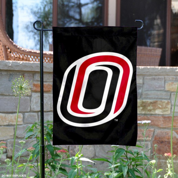 UNO Yard Flag is 13x18 inches in size, is made of 2-layer polyester, screen printed University of Nebraska Omaha athletic logos and lettering. Available with Same Day Express Shipping, Our UNO Yard Flag is officially licensed and approved by University of Nebraska Omaha and the NCAA.