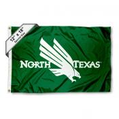 UNT Mean Green Mini Flag