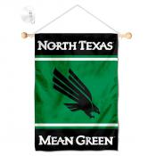 UNT Mean Green Window and Wall Banner
