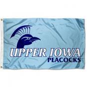 Upper Iowa Peacocks Flag