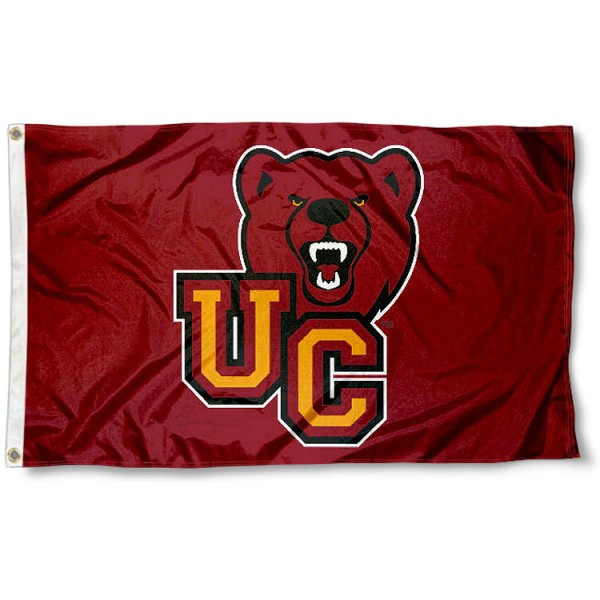 Ursinus Bears UC Flag measures 3x5 feet, is made of 100% polyester, offers quadruple stitched flyends, has two metal grommets, and offers screen printed NCAA team logos and insignias. Our Ursinus Bears UC Flag is officially licensed by the selected university and NCAA.