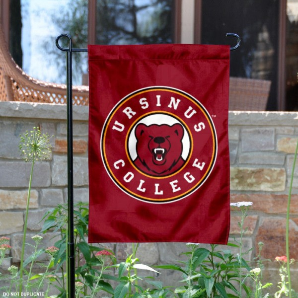 Ursinus College Bears Garden Flag is 13x18 inches in size, is made of 2-layer polyester, screen printed university athletic logos and lettering. Available with Same Day Express Shipping, our Ursinus College Bears Garden Flag is officially licensed and approved by the university and the NCAA.