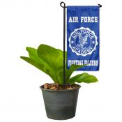US Air Force Flower Pot Topper Flag