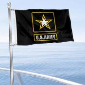 US Army Star Boat and Mini Flag