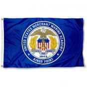 US Merchant Marine Mariners Seal Flag