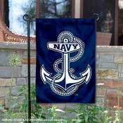 US Navy Anchor Garden Flag